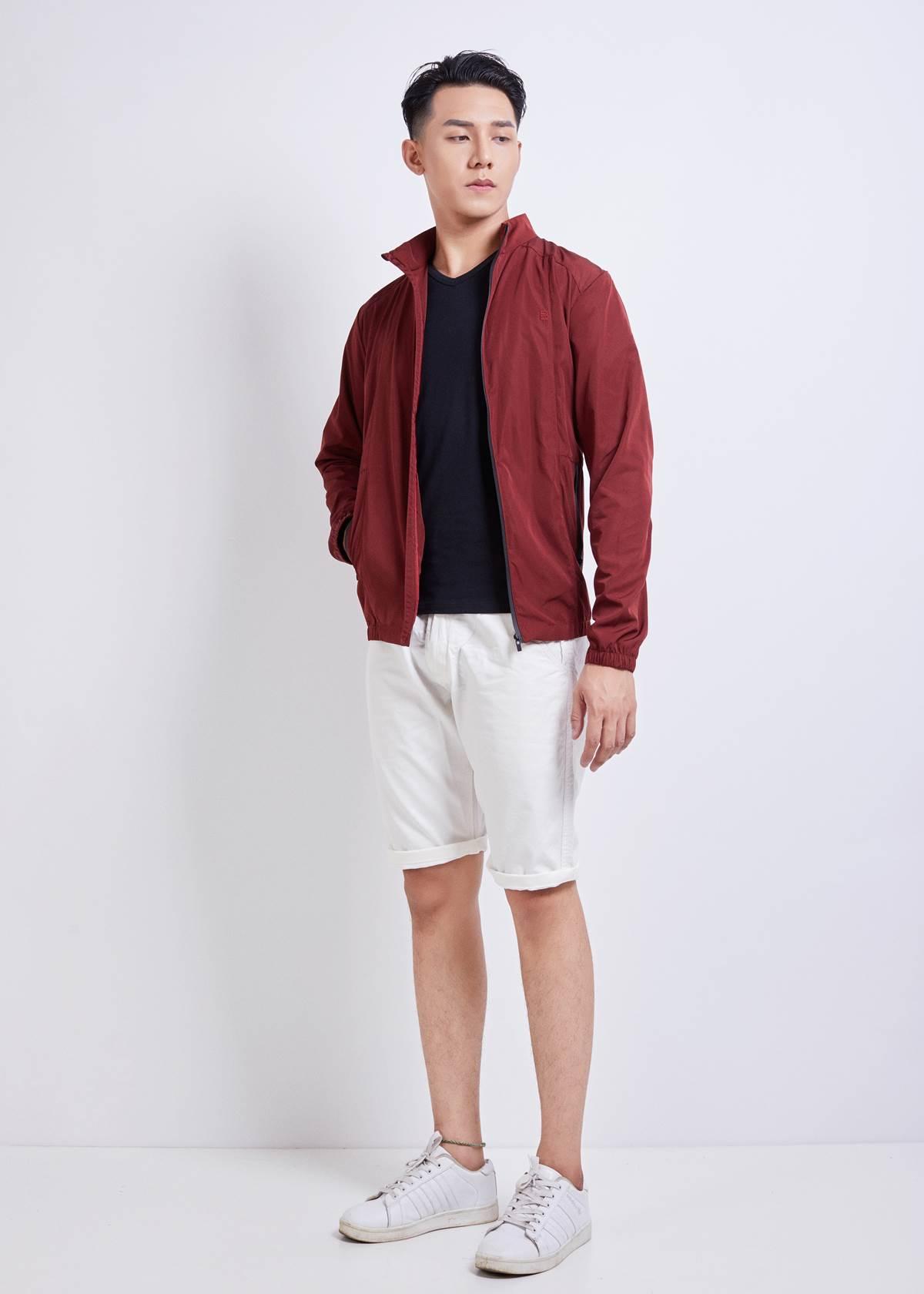 Đỏ thẫm - Gam màu ấm của thời trang nam 2018