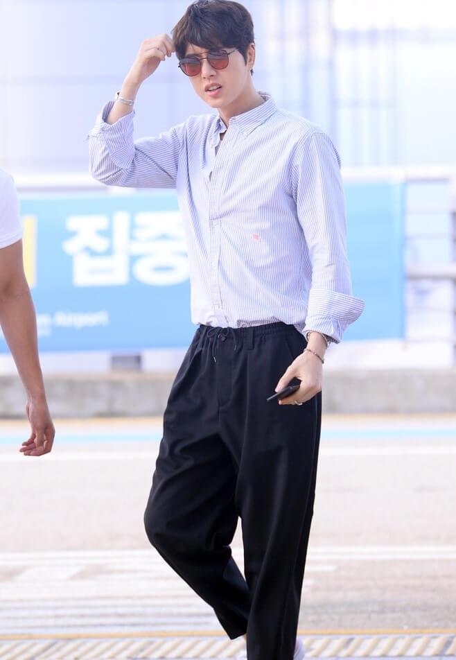 Phong Cách Thời Trang Sân Bay Của Park Hae Jin