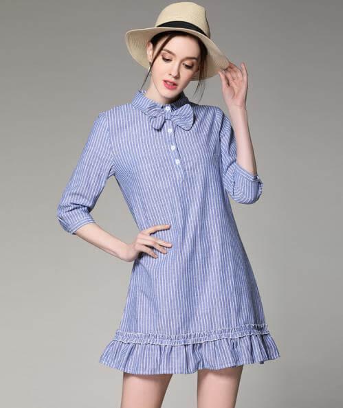 Váy hạ eo xu hướng của thời đại