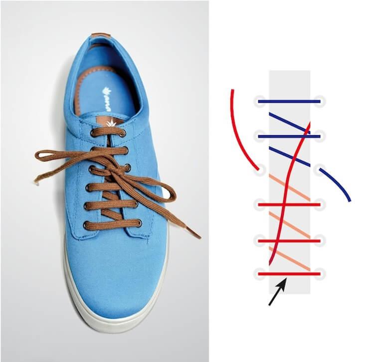 Cách thắt dây giày đẹp kiểu Ridding Bow