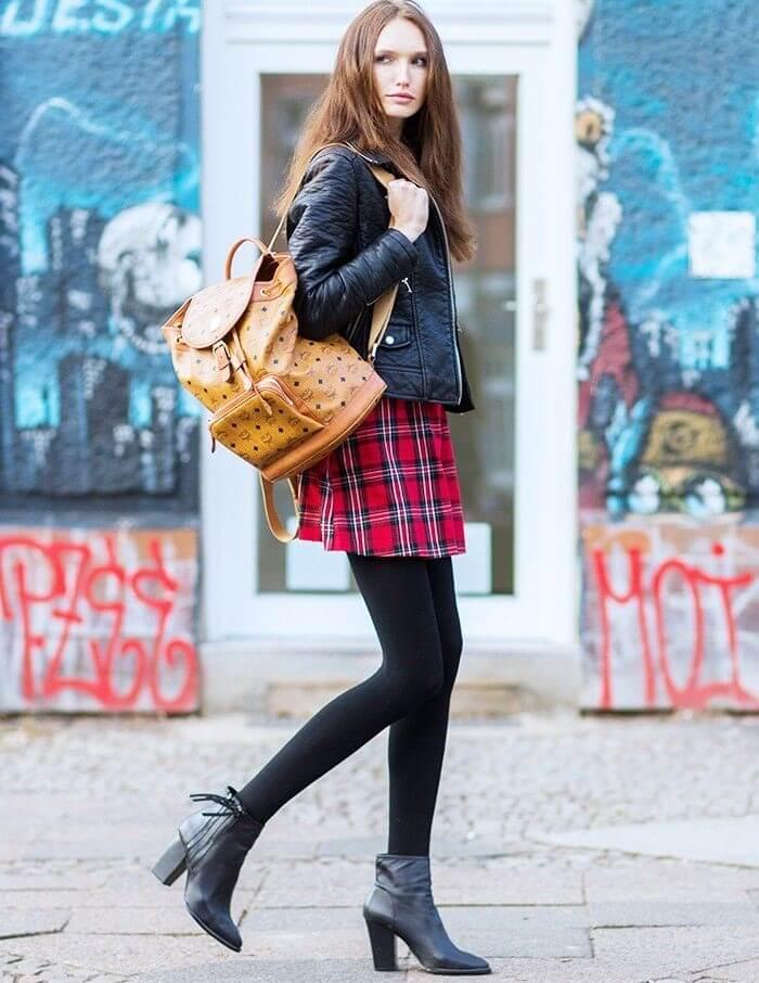 Balo da có lẽ là mẫu túi xách vừa đi chơi vừa đi học phổ biến nhất hiện nay