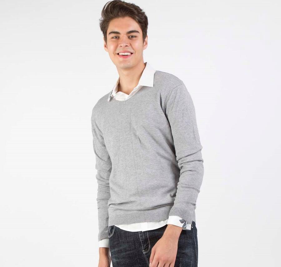 Những chiếc áo Sweater thời gian đầu