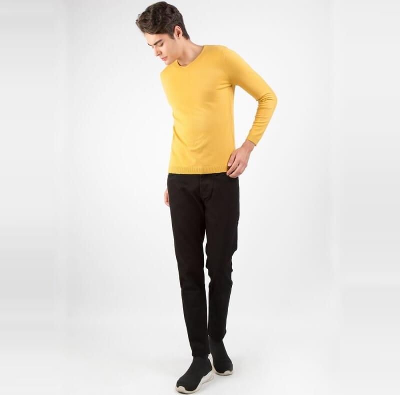 """Phối áo len dài tay và giày cùng màu – Quy tắc """"nằm lòng"""" của tín đồ thời trang"""