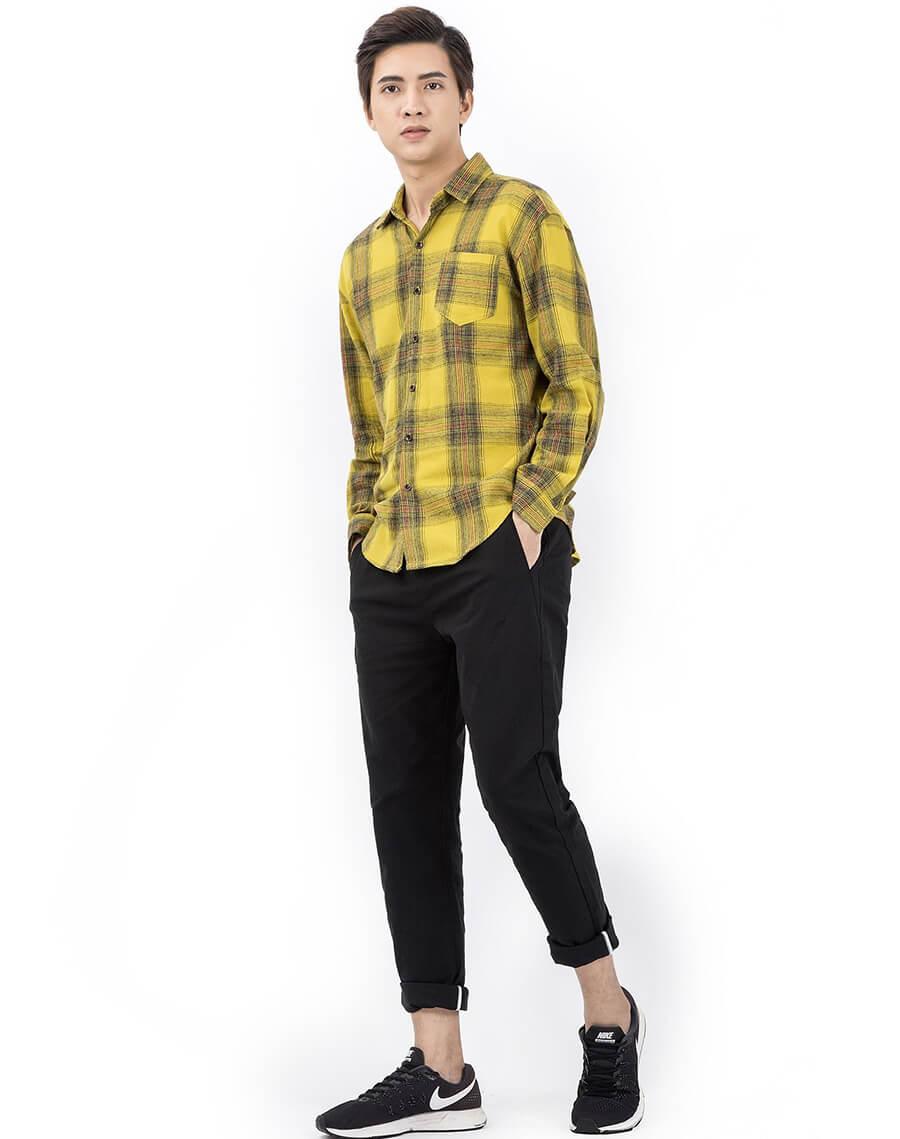 Áo flannel tôn lên nét trẻ trung và khoẻ khoắn cho phái nam
