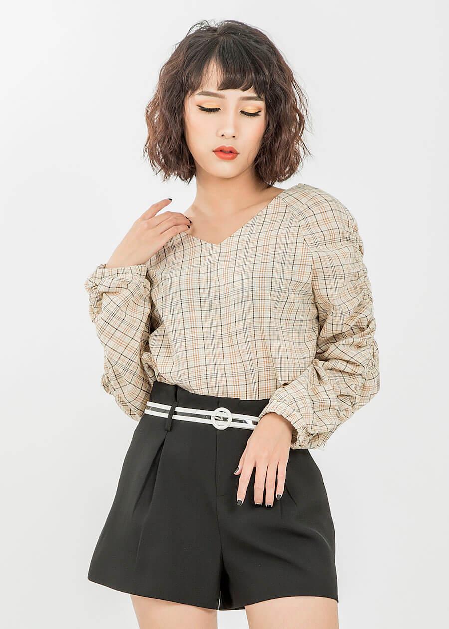 Các loại áo - đầm - váy với cầu vai và tay áo cách điệu