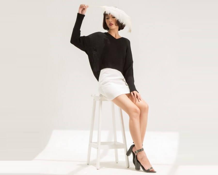 Thời trang full black: Sắc màu thời trang cho những cô nàng cá tính