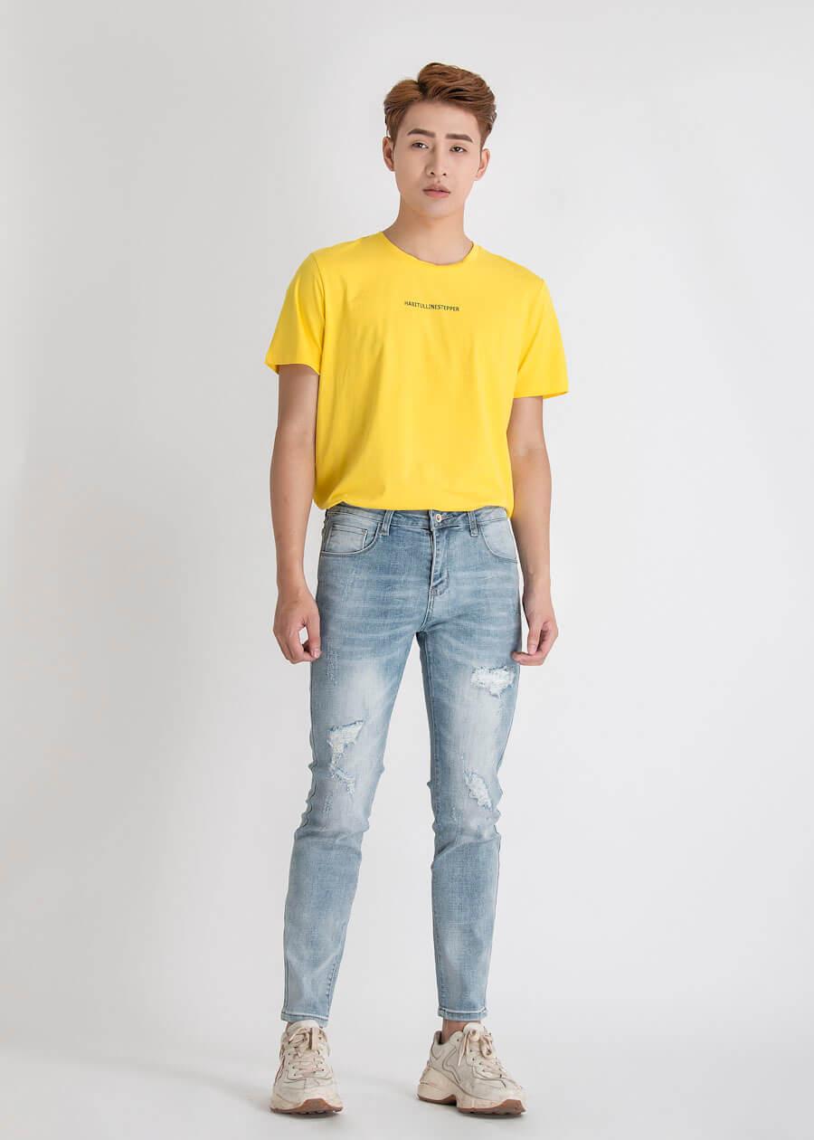 """Cực """"Men Lỳ"""" với áo thun và jeans/kaki dài khỏe khoắn cho nam"""