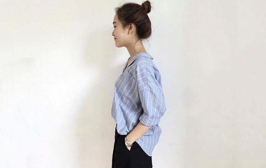 Libe - Địa chỉ bán áo sơ mi nữ cực đẹp tại TP HCM