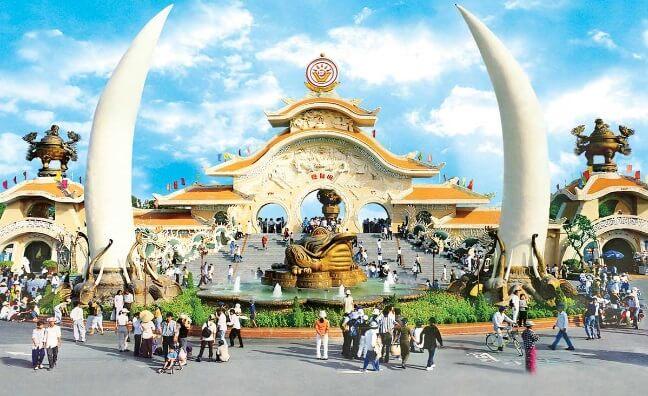 Khu du lịch Suối Tiên - Hồ Chí Minh
