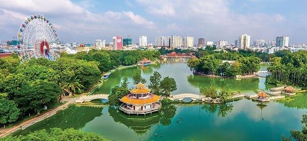 Công viên văn hóa Đầm Sen - Hồ Chí Minh