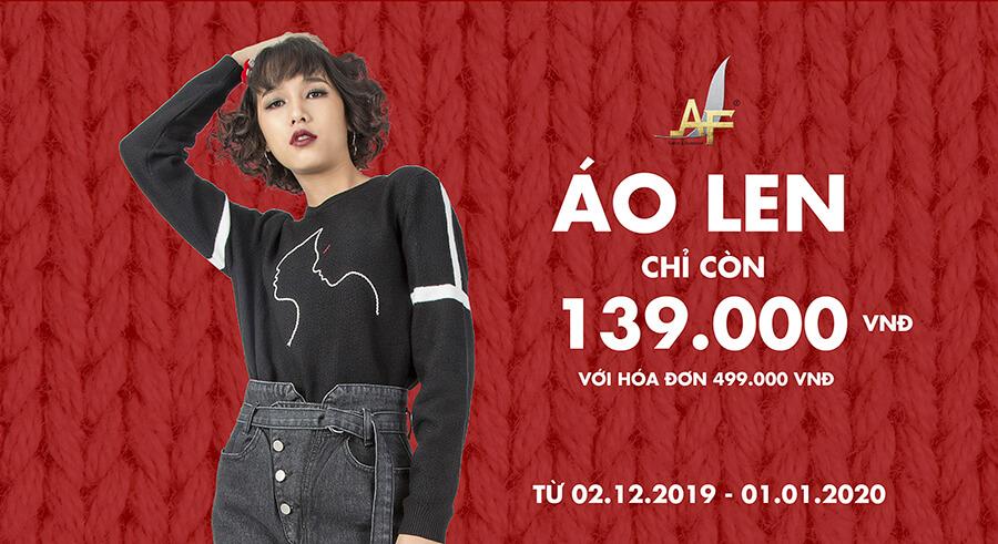 Áo len nữ chỉ 139k - AF Fashion