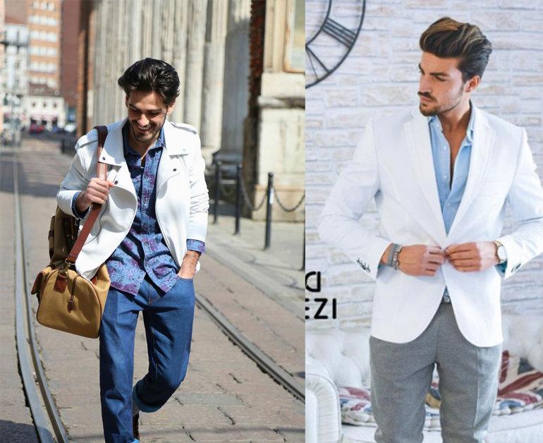 cách phối áo sơ mi nam màu xanh