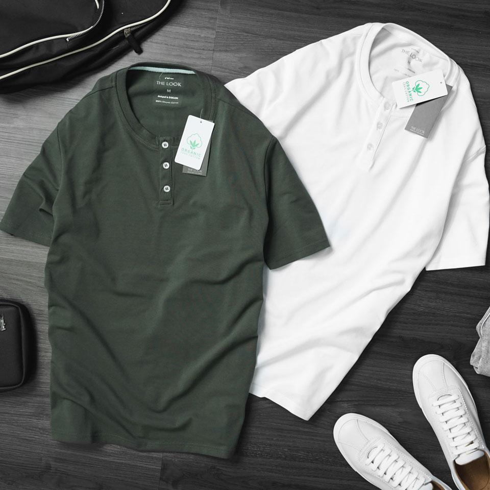 áo thun là items bắt buộc của mọi chàng trai
