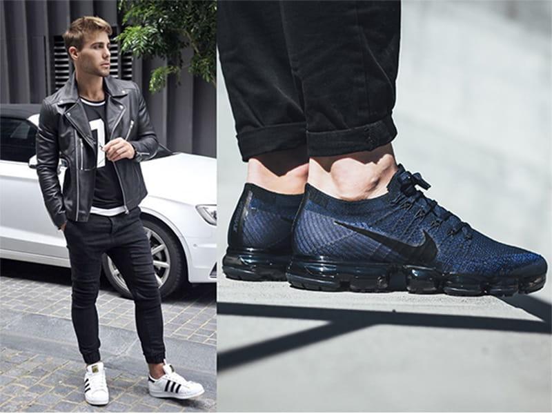 phối với giày sneaker
