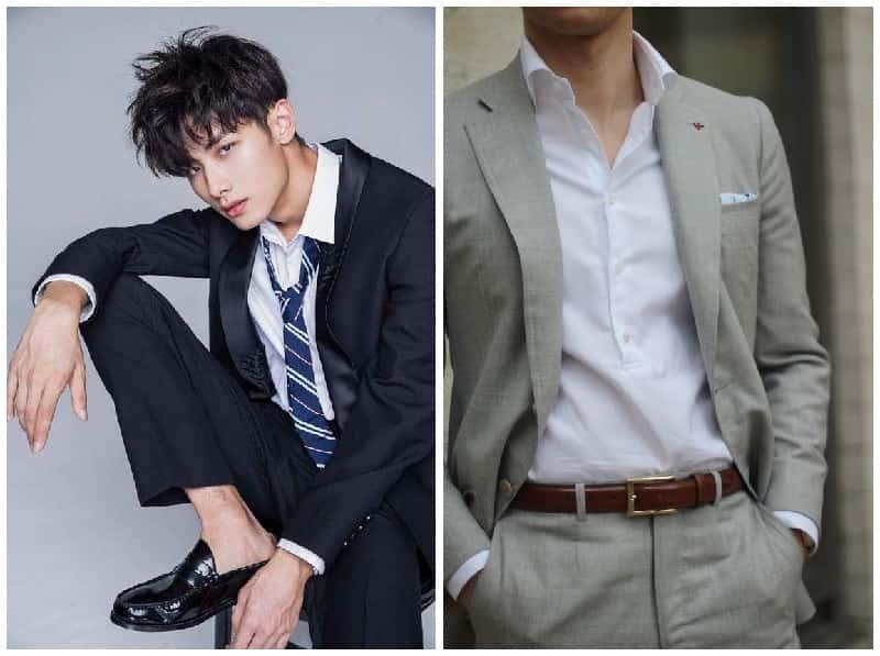 chọn chiều dài tay áo phù hợp khi diện chung với vest