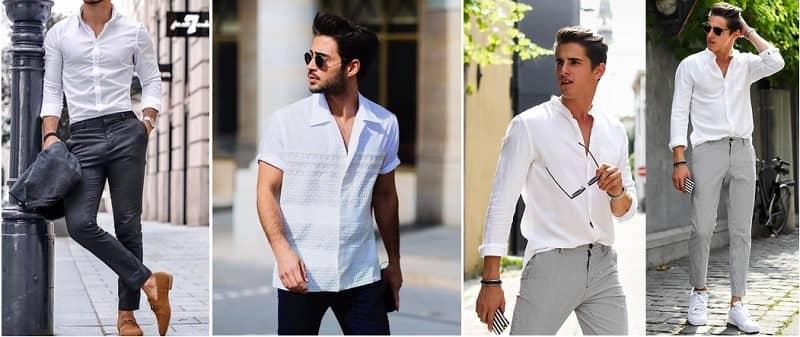 khi nào nên mặc áo sơ mi trắng