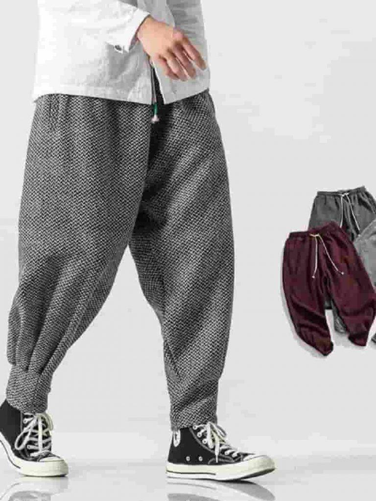 quần baggy form rộng