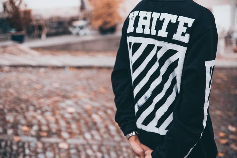 áo hoodie off white