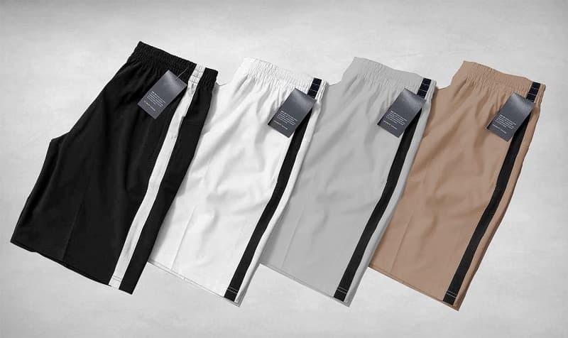 quần short nam vải dù