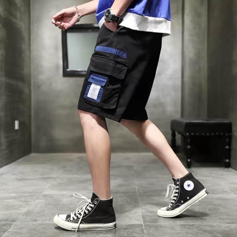 quần short nam túi hộp