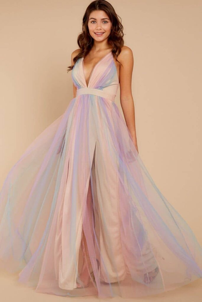 đầm màu pastel