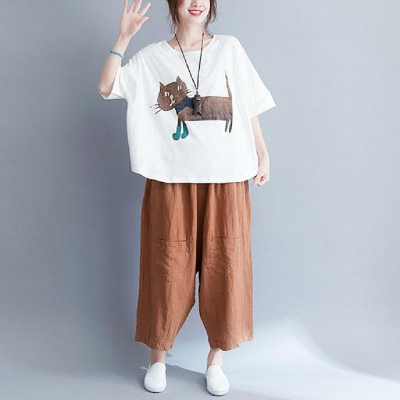 quần áo free size phù hợp với dáng người nào