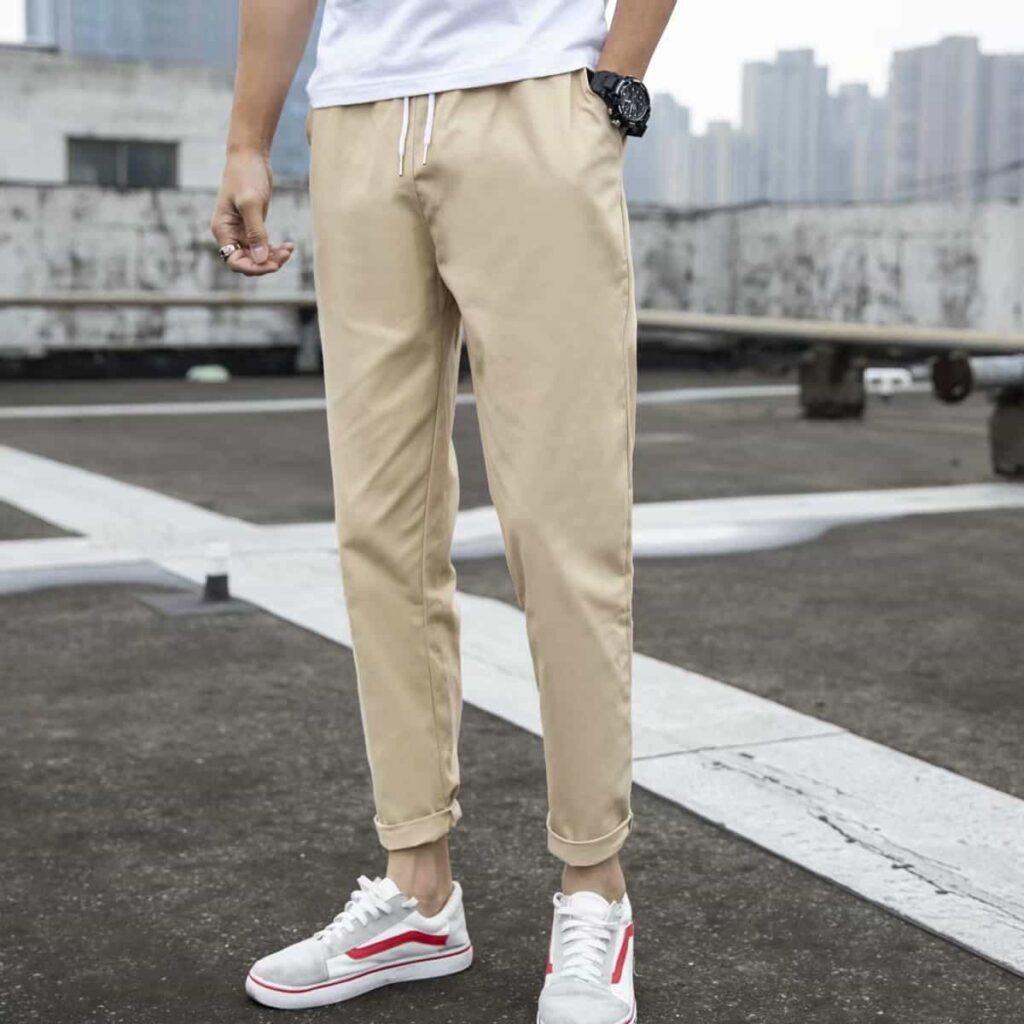 quần baggy kaki nam đẹp