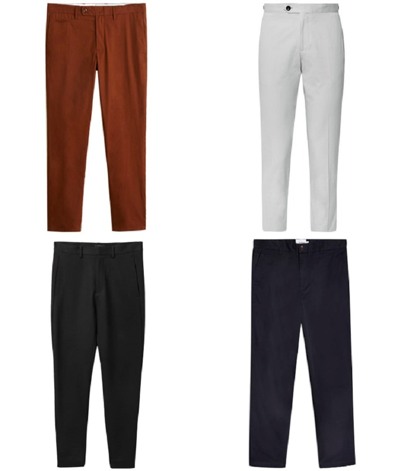 Mẫu Cropped Trousers