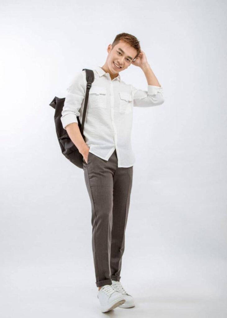 Straight Legged Trousers 8808 tại fashion minh thư