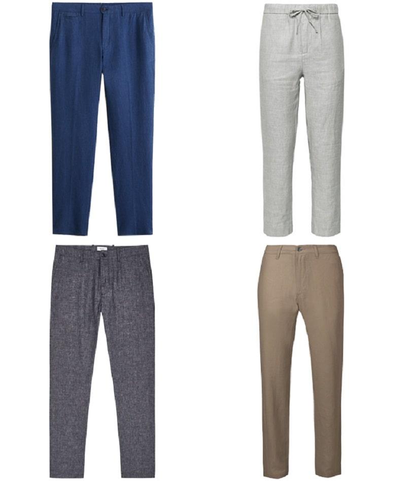 Mẫu Linen Trousers