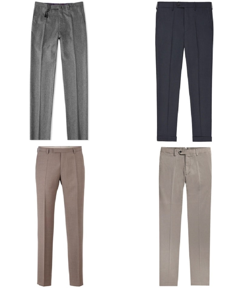Mẫu Wool Trousers