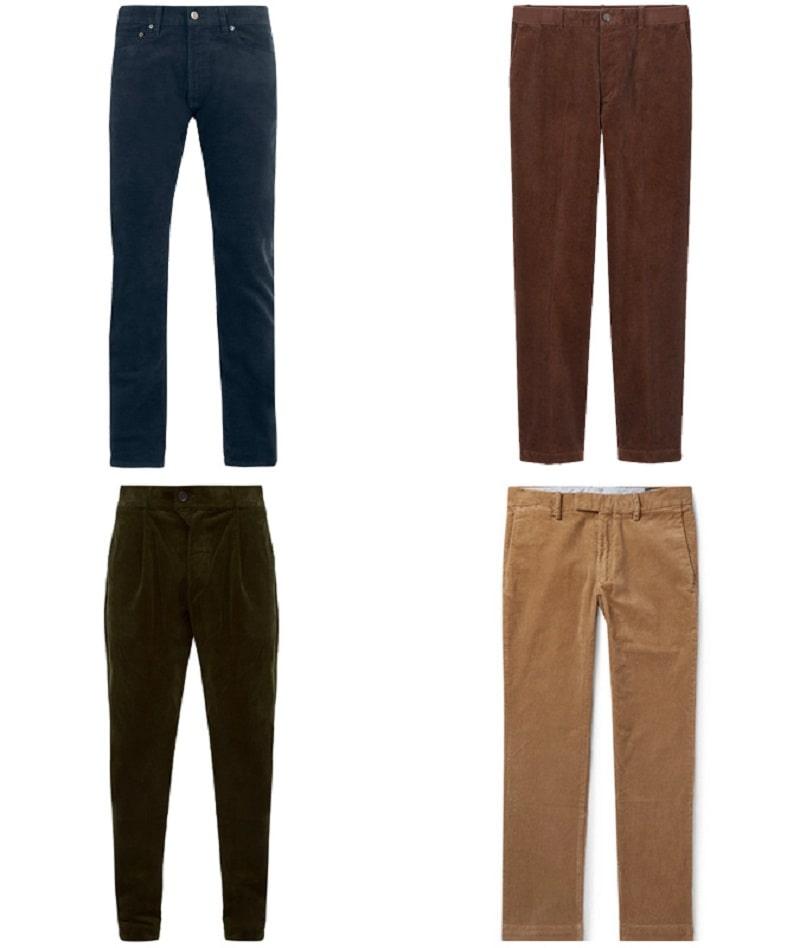 Mẫu Corduroy Trousers