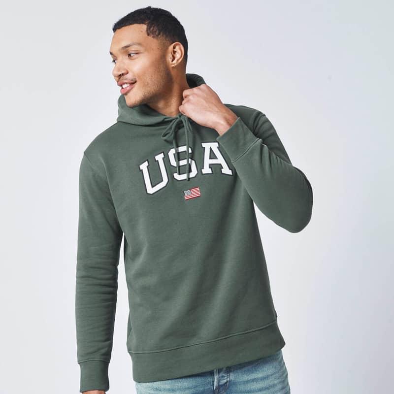 cách chọn hoodie cho nam mập