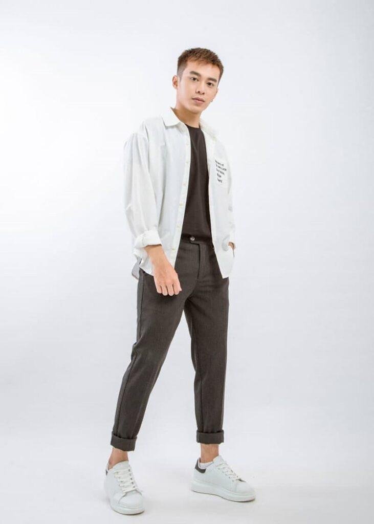 mẫu áo sơ mi trắng 3325