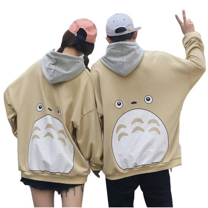 áo hoodie totoro