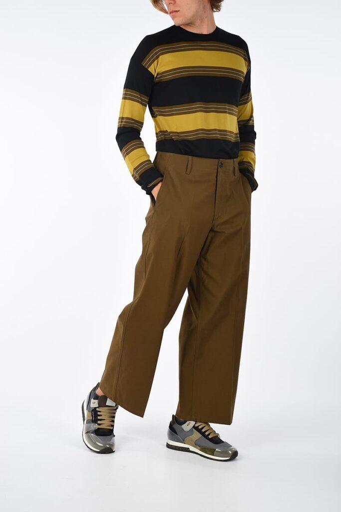 quần ống rộng nhận được sự ưa chuộng của nhiều tín đồ thời trang