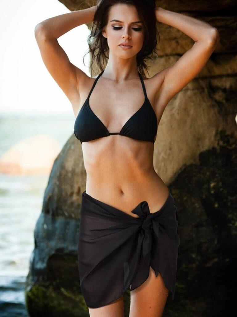 Áo Bra + sarong