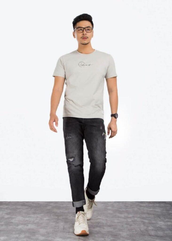 áo thun nam basic