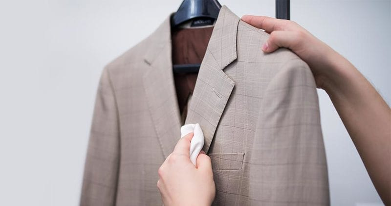 cách giặt áo vest bằng máy giặt