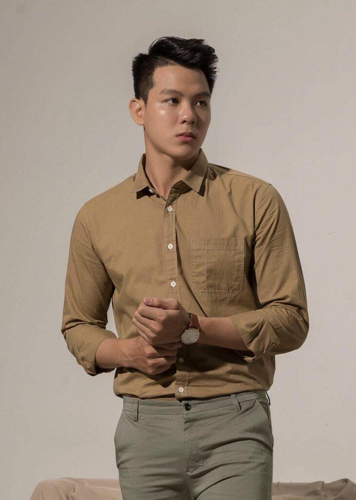 Long Sleeve Basic Shirt – 8888