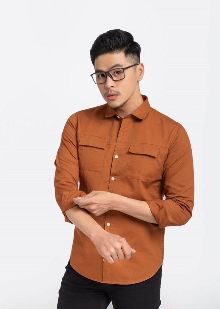 Cargo Shirt Long Sleeve – 9820