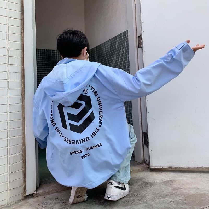 áo khoác dù nam