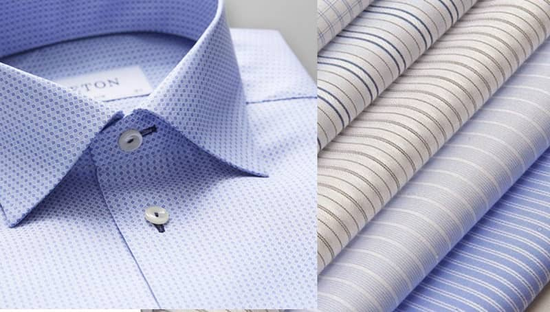 các loại vải may áo sơ mi nam đẹp