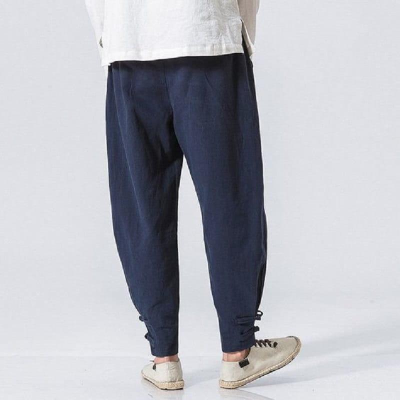 nam gầy thấp không nên chọn quần baggy, quần ống rộng