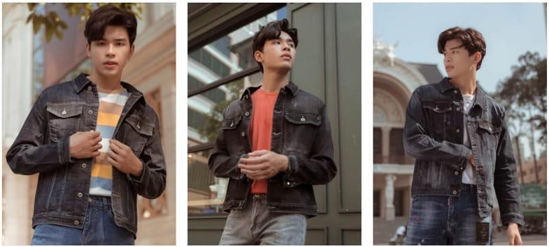 áo khoác jean nam tại Minh Thư Fashion
