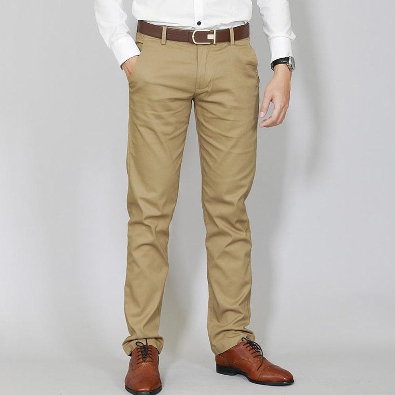 quần kaki dài nam mới